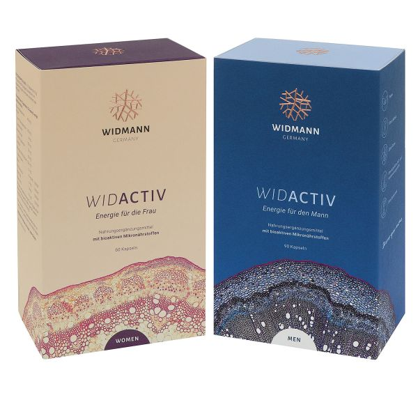 WIDACTIV Women & Men Bundle – energy for women and men
